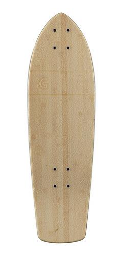 Goldcoast Classic Bamboo Cruiser Skateboard Deck, 28 -inch