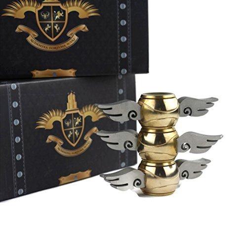 Tornado Golden Orb Fidget Spinner v2 Exclusive Chest Box Design Only