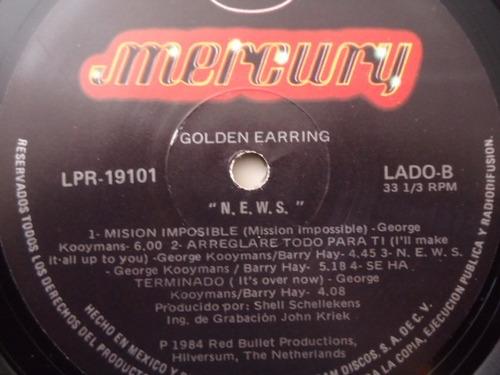 golden earring / n e w s vinyl lp acetato