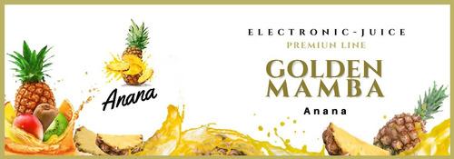 golden mamba. liquidos para vapear. 30ml sin nicotina