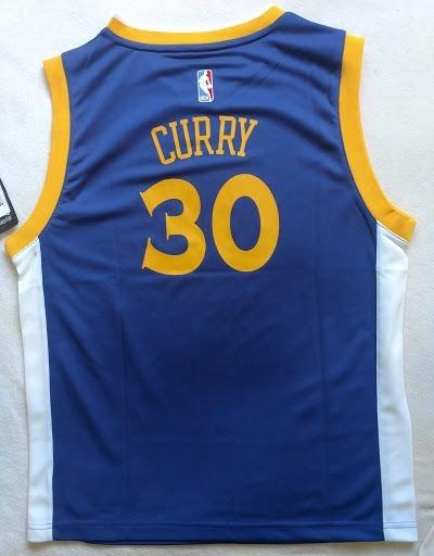 official photos 60569 1a809 Golden State Warriors Stephen Curry Jersey adidas Azul