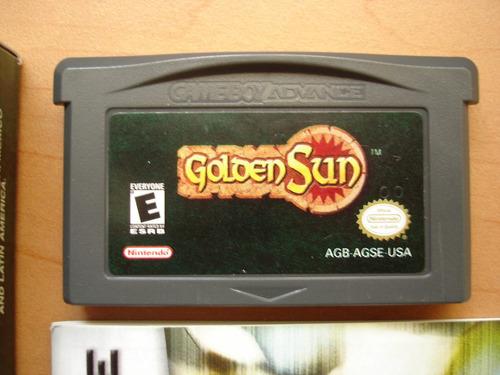 golden sun completo para game boy advance rtg +++