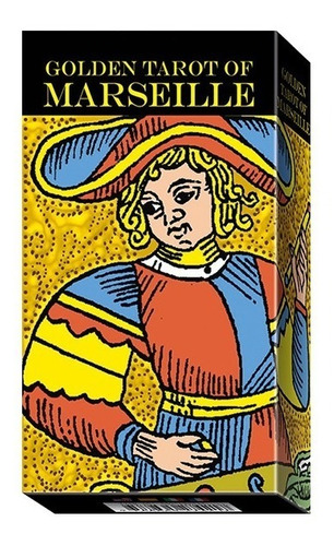 golden tarot of marseille (tarot dorado de marseille)