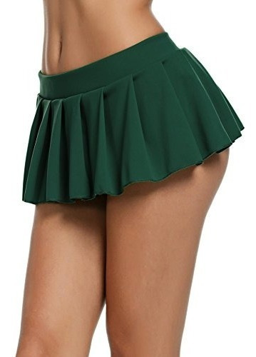 goldenfox mujeres colegiala plisada sexy mini cosplay falda