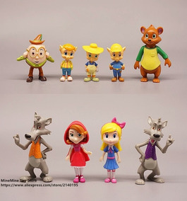 Goldie Y Osito Bear Anime 9 Personajes Dibujos Cable