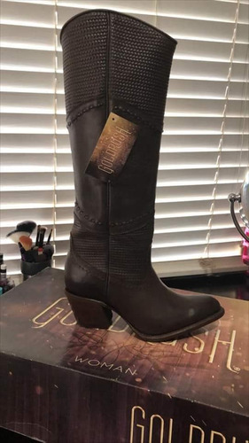 goldrush bota alta de dama #6