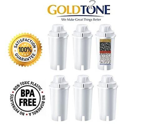 goldtone 7 reemplazo de filtro de una etapa de agua alcalina
