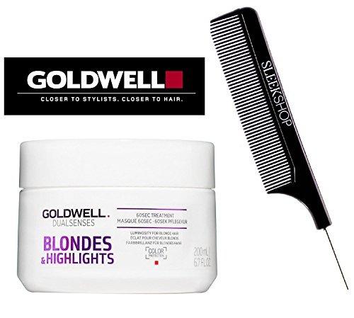 goldwell dualsenses rubios y destacados tratamiento de 60 s