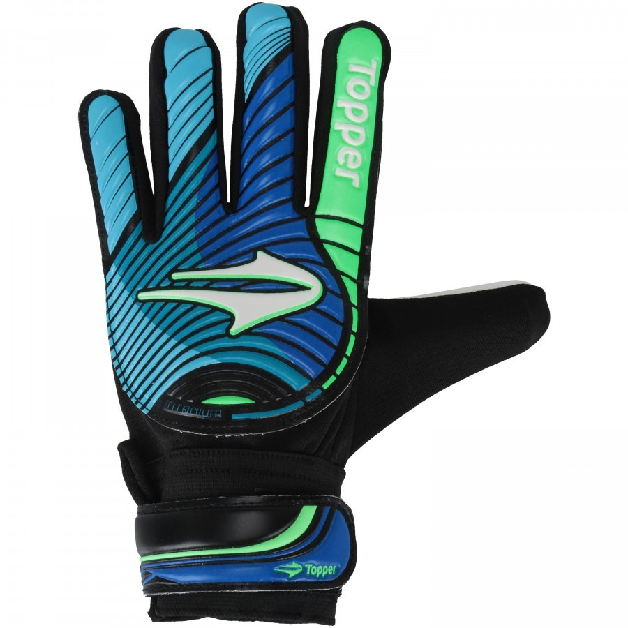 12c734add4 Luvas Goleiro Infantil Topper Titanium Tam Black Friday - R  59