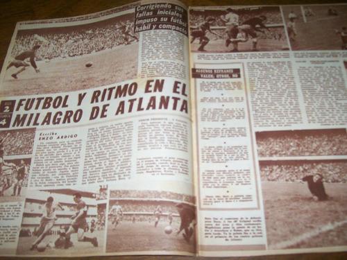 goles 822 - boca 2 atlanta 4 / river 1 chacarita 0/ silveira