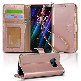 e38fdb36e Carcasa Billetera Arae C/correa Soporte P/samsung Galaxy S8