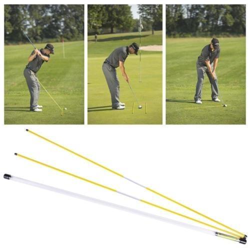 golf alineación palos swing plano recorrido ayuda práctica b