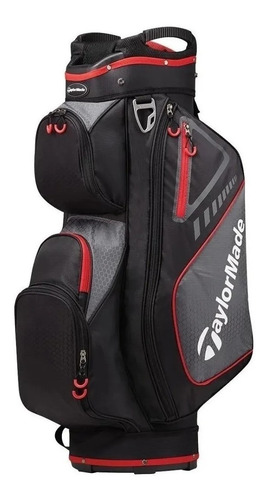 golf center bolsa taylormade select 14div carro black 6c s/i