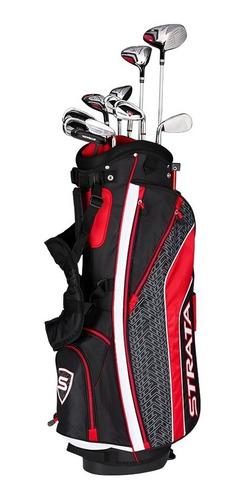 golf center set strata tour 16 pcs mens stiff by callaway