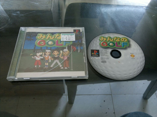 golf completo japones para play station 1