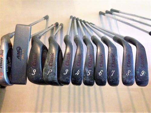 golf completo palos