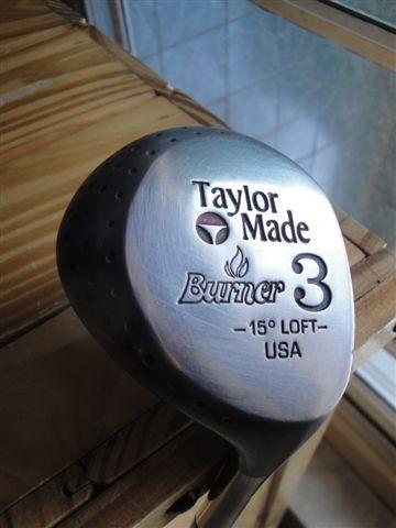 golf drive palos hierros madera 3 loft 15º taylor made