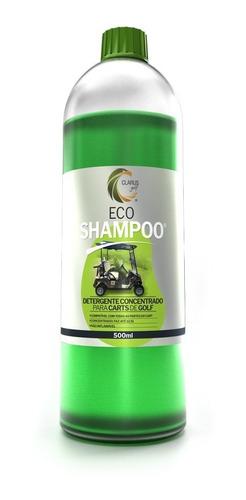 golf eco shampoo  detergente concentrado para carts de golf