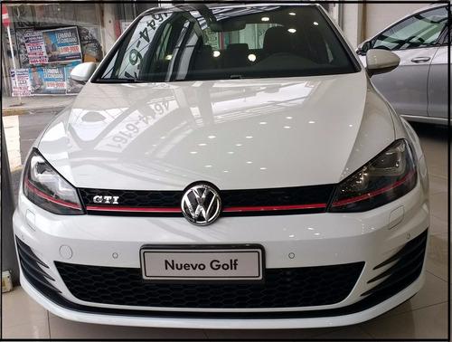 golf gti 0 km 2.0 fsi dsg 2017 entrega inmediata alra vw tsi