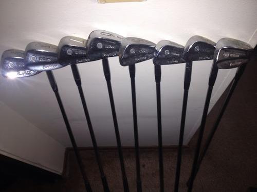 golf palos hierros wilson usados mas baratos q callaway  x20