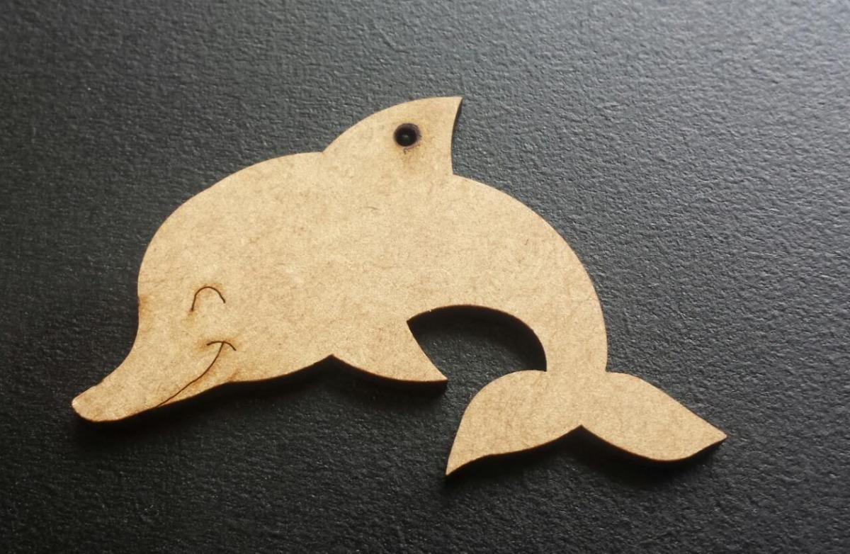 golfinho silhueta aplique em mdf cru 60 cm r 16 90 em mercado livre