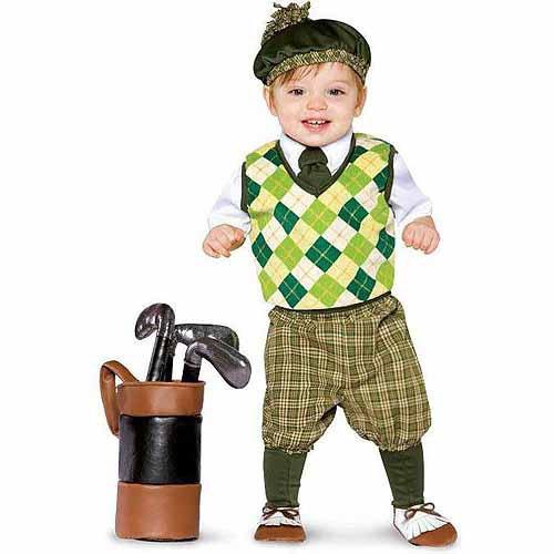 golfista futuro niño disfraces de halloween