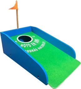 Golfito De Madera Material Didactico Para Niños
