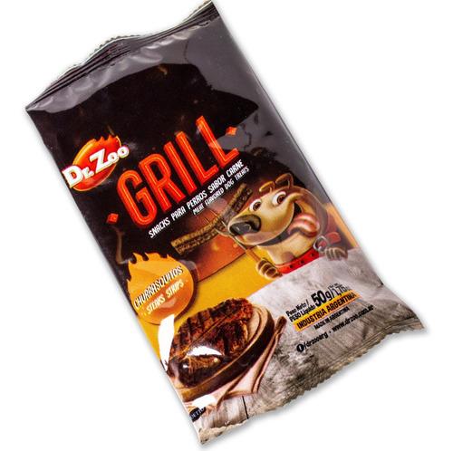 golosinas palitos dr. zoo churrasquitos 50 gr snacks hueso