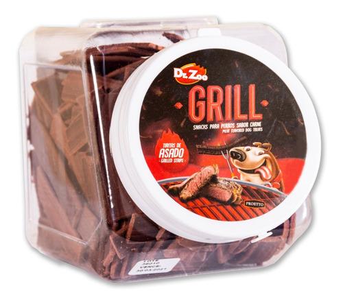 golosinas palitos dr. zoo grill tiritas asado x 1,5kg snacks
