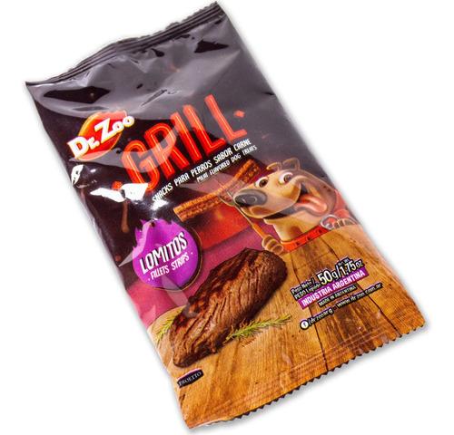 golosinas palitos dr. zoo lomitos 50 gr snacks hueso