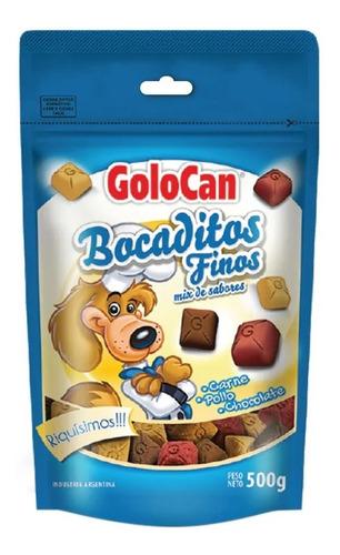 golosinas perros golocan bocaditos blandos finos mix 500g