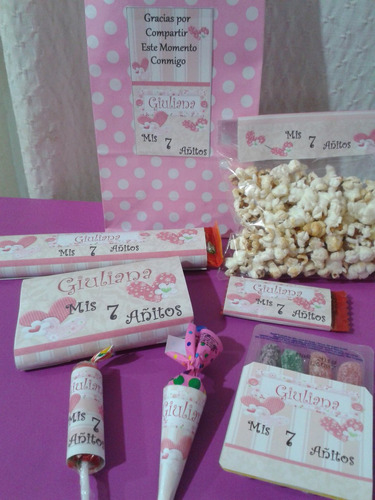 golosinas personalizadas ( candy bar)