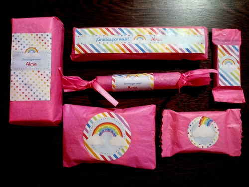 golosinas personalizadas candy bar