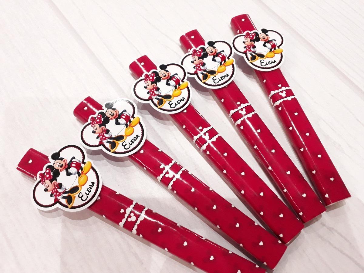 debf11c9a Golosinas Personalizadas - Candy Bar Mickey Y Minnie Mouse - $ 1.980 ...