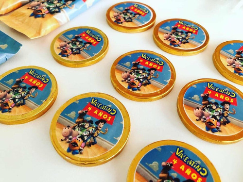 golosinas personalizadas candy bar toy story 4 x 20 mesa dul