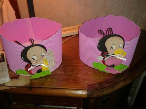 golosineros para cumpleaños infantiles en goma eva $400