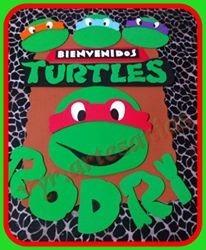 golosineros sorpresitas bolsitas tortugas ninjas