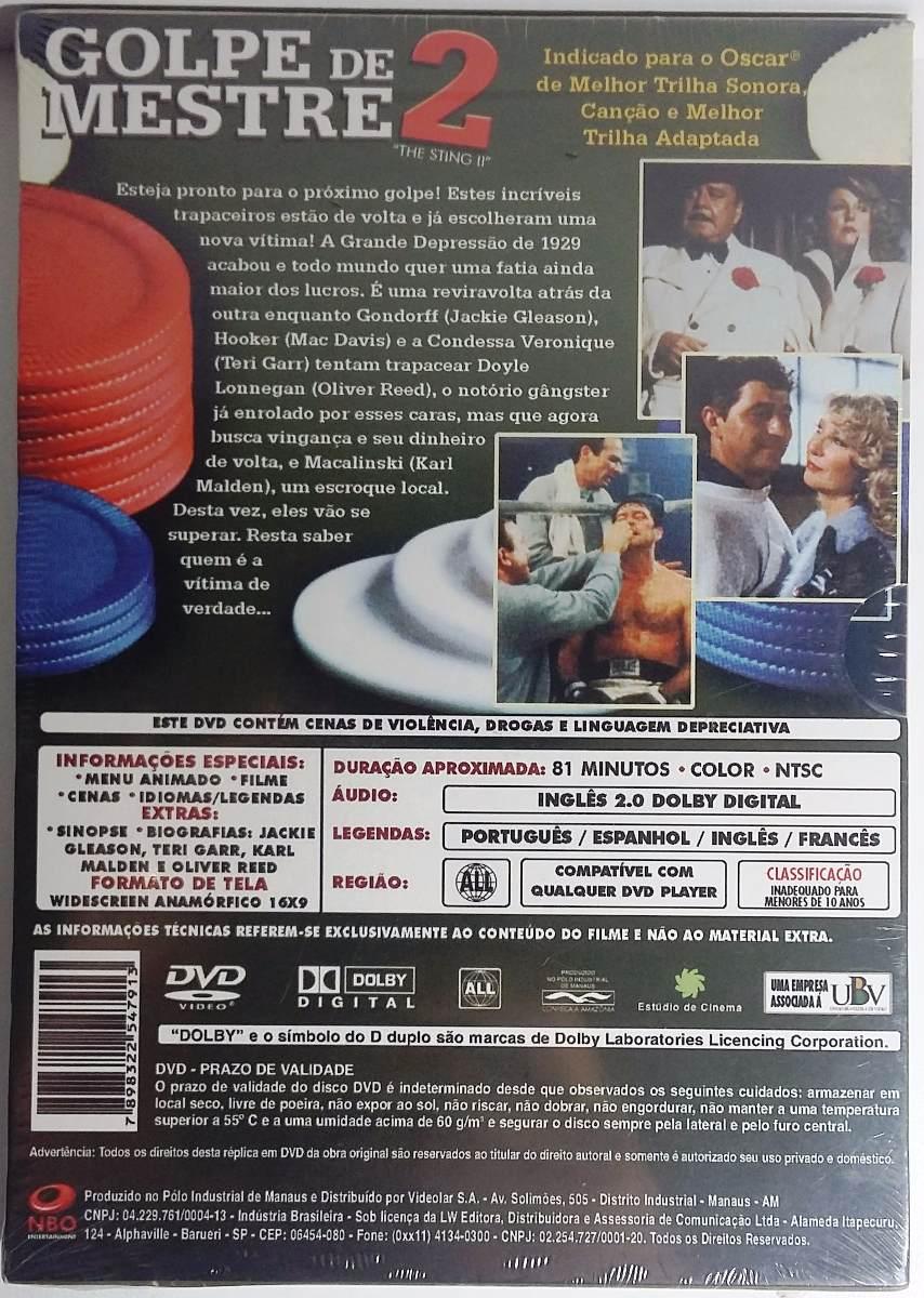 Golpe De Mestre 2 - Dvd Original Lacrado. - R  9 0dc2526c71305