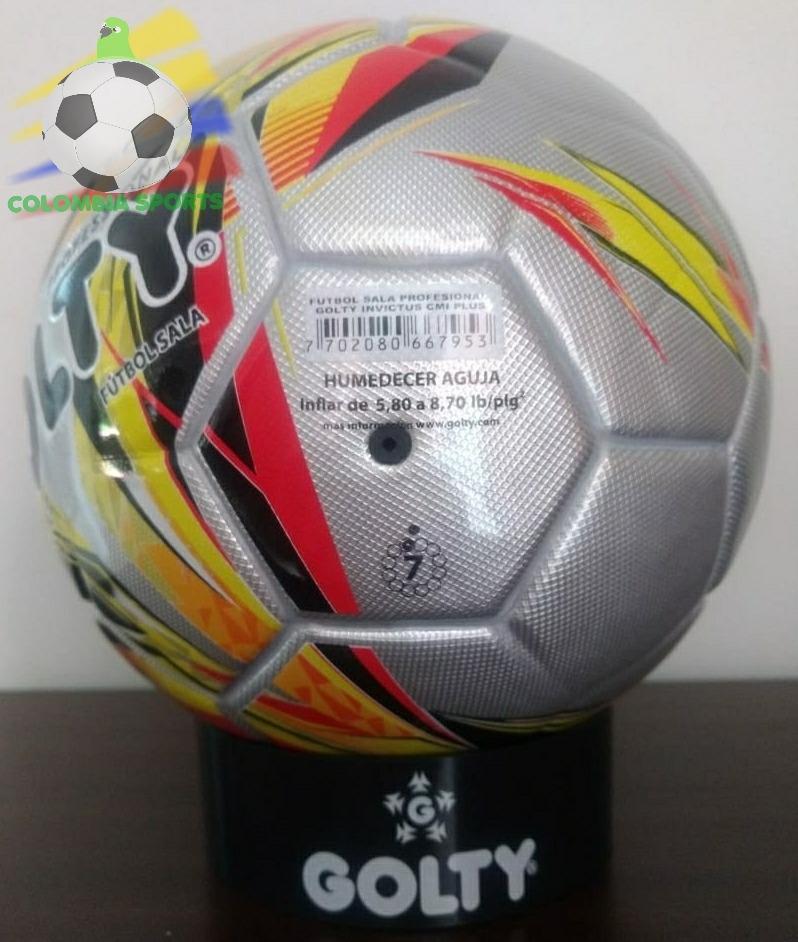 Golty Invictus Balon Futbol Sala Futsal Cancha Sintetica -   112.950 ... 47f61b0e71dac