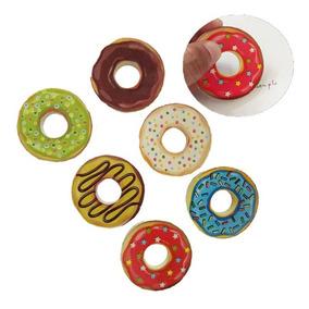 Goma De Borrar Donas Donuts Kawaii Ideal Escuela O Souvenir