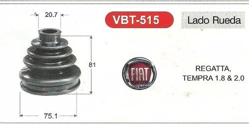 goma de tripoide regatta - tempra - hyundai excel