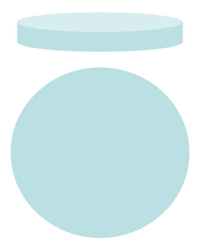 goma espuma disco  45cm verde 2  pulgadas envíos vzla