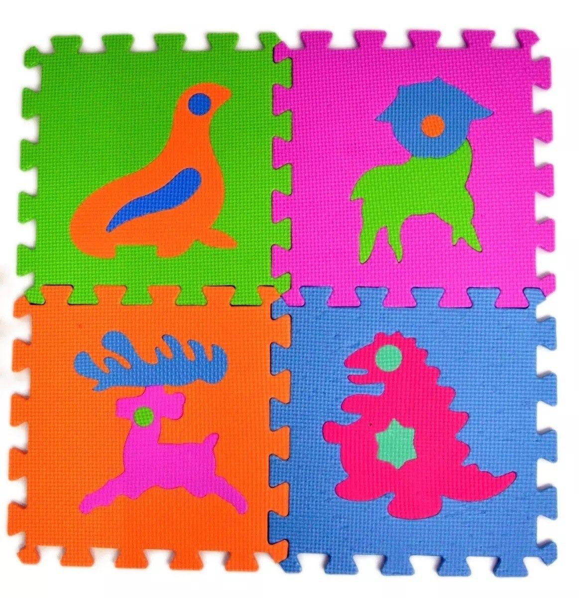 c85c1d76068 goma eva alfombra animal niños 30 cuadros 30x30   n ofertas. Cargando zoom.