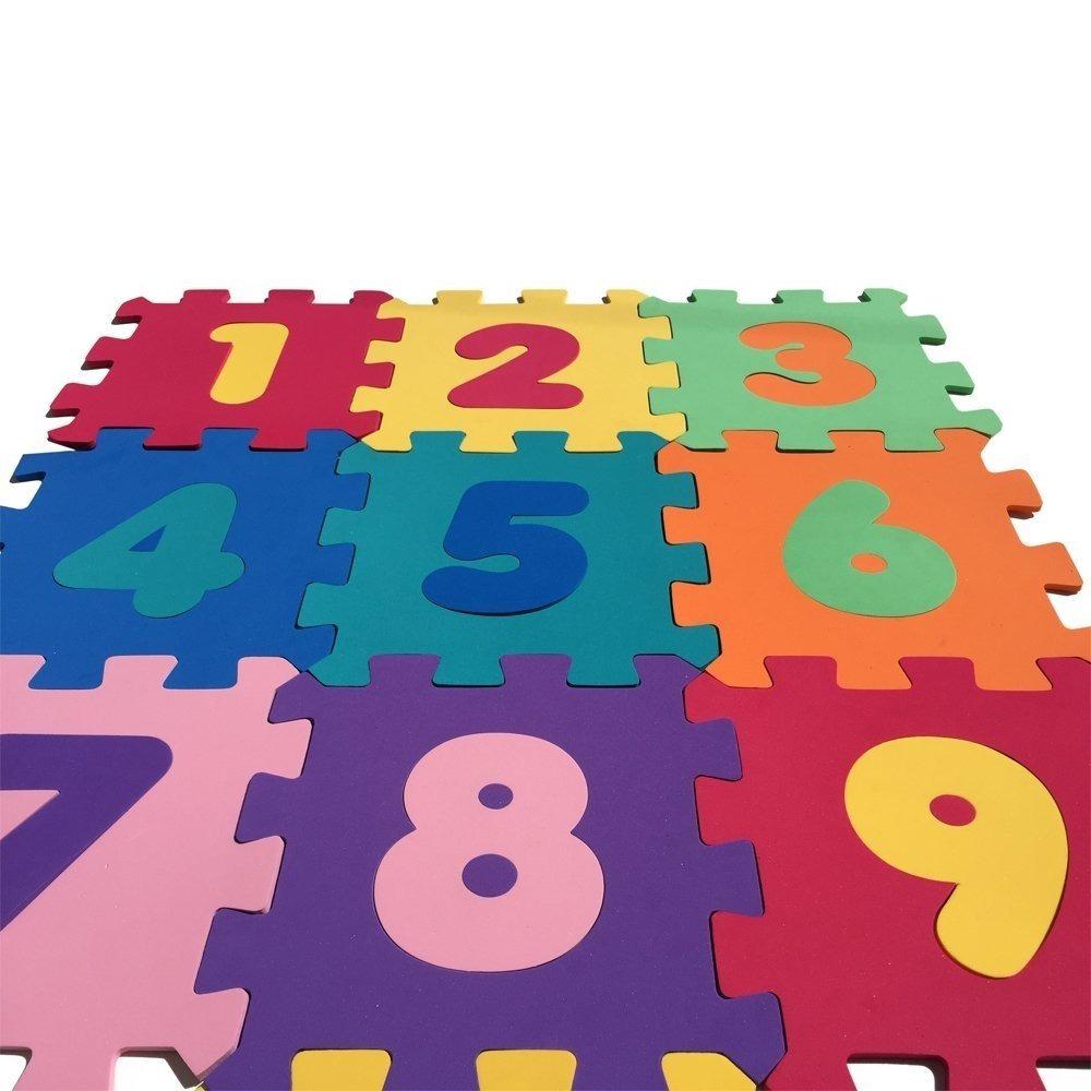 8d93c10cabe goma eva alfombra números niños 30 cuadros 30x30   n ofertas. 3 Fotos