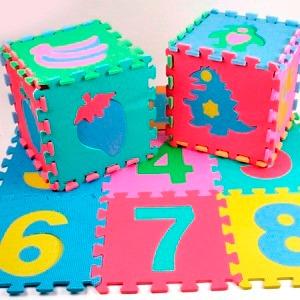 39ba9440ad0 Goma Eva Alfombra Numeros Niños 50 Cuadros 30x30   N Ofertas ...