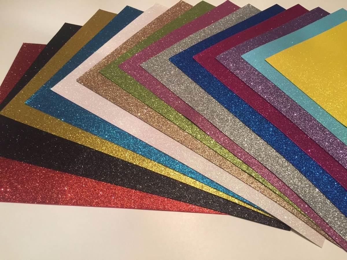 1a34cc1179a Goma Eva Glitter 40x60 - Variedad De Colores -   6.000 en Mercado Libre