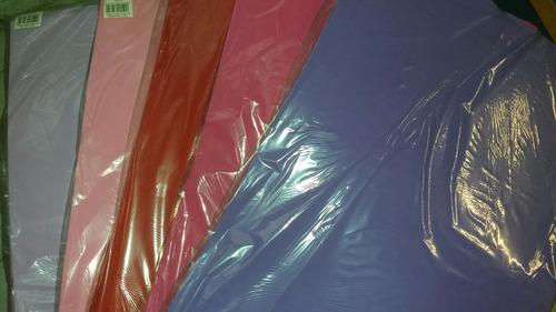 goma eva lisa hojas de 53 x 90 cm x 2 mm  24 colores