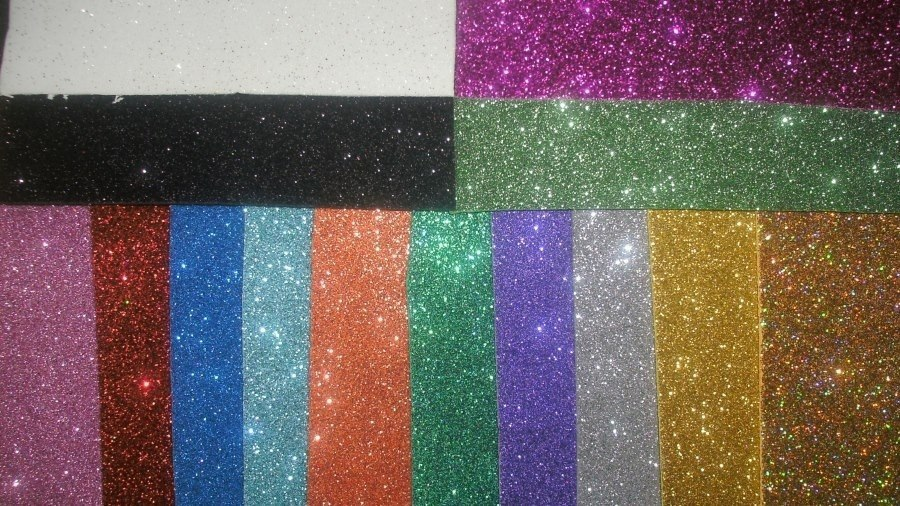 b16e0a1d76a Goma Eva Super Glitter Autoadhesiva 60x40 Colores Vs X 10 U -   540 ...