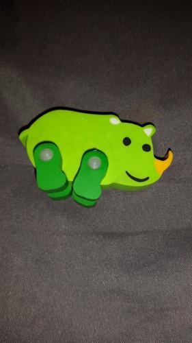 goma figura animales selva