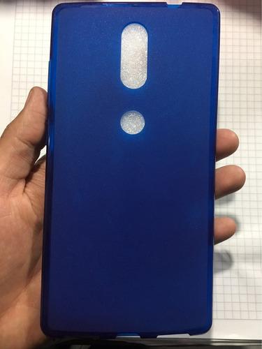 goma flexible lenovo phab 2 plus azul 670y